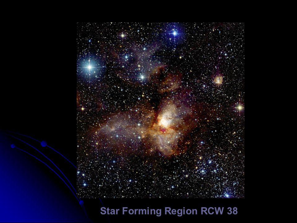 Star Forming Region RCW 38
