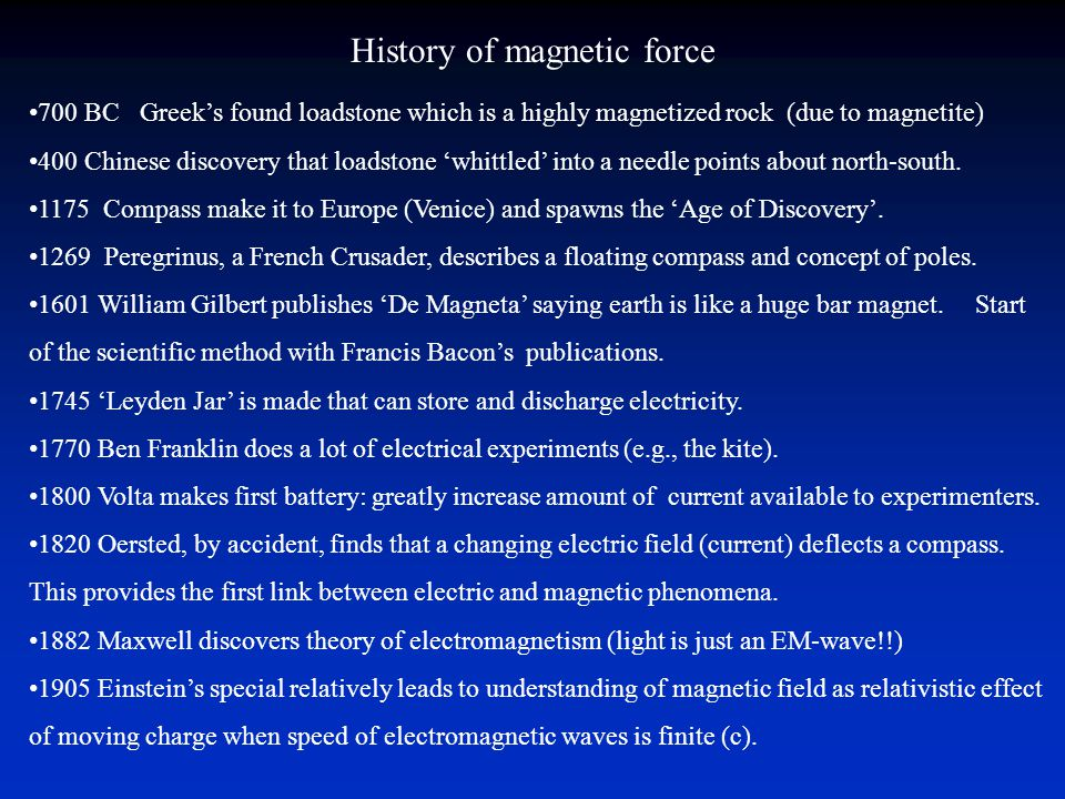 Reversals of the Earth's magnetic field Global Occur abruptly Easy to recognize Allows us to establish stratigraphic order Allows us to date rocks Magnetostratigraphy