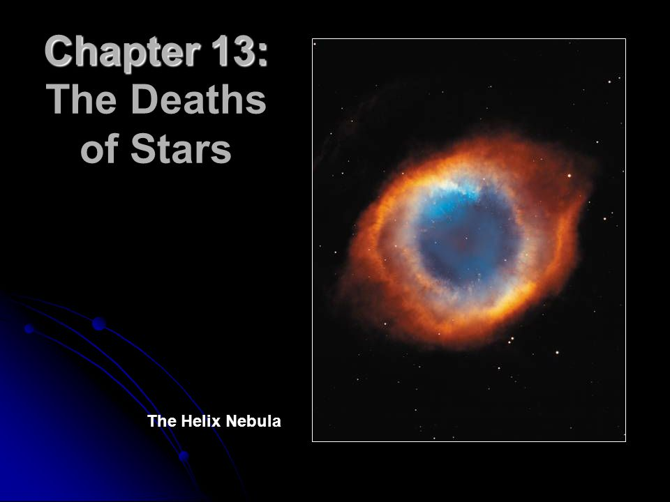 Chapter 13: Chapter 13: The Deaths of Stars The Helix Nebula