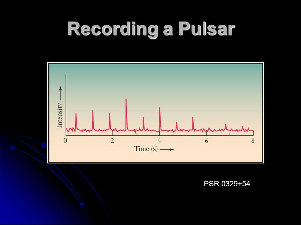 Recording a Pulsar PSR 0329+54