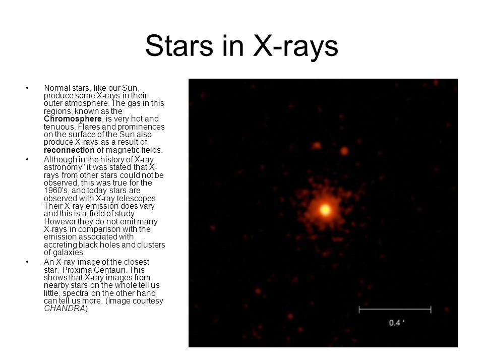 Active Stars These are early type stars - O and Wolf-Rayet types.