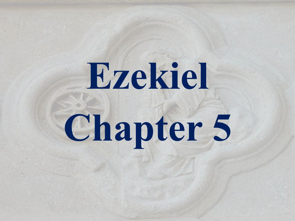 Ezekiel 5:12 A third part of thee shall die with the pestilence, and with famine shall they be consumed in the midst of thee: and a third part shall fall by the sword round about thee; and I will scatter a third part into all the winds, and I will draw out a sword after them.