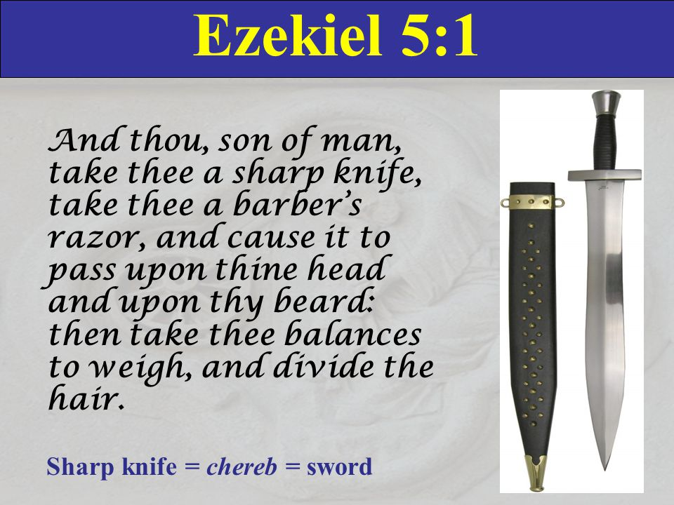 Ezekiel 5:13 Thus shall mine anger be accomplished, and I will cause my fury to rest upon them, and I will be comforted: and they shall know that I the LORD have spoken it in my zeal, when I have accomplished my fury in them.