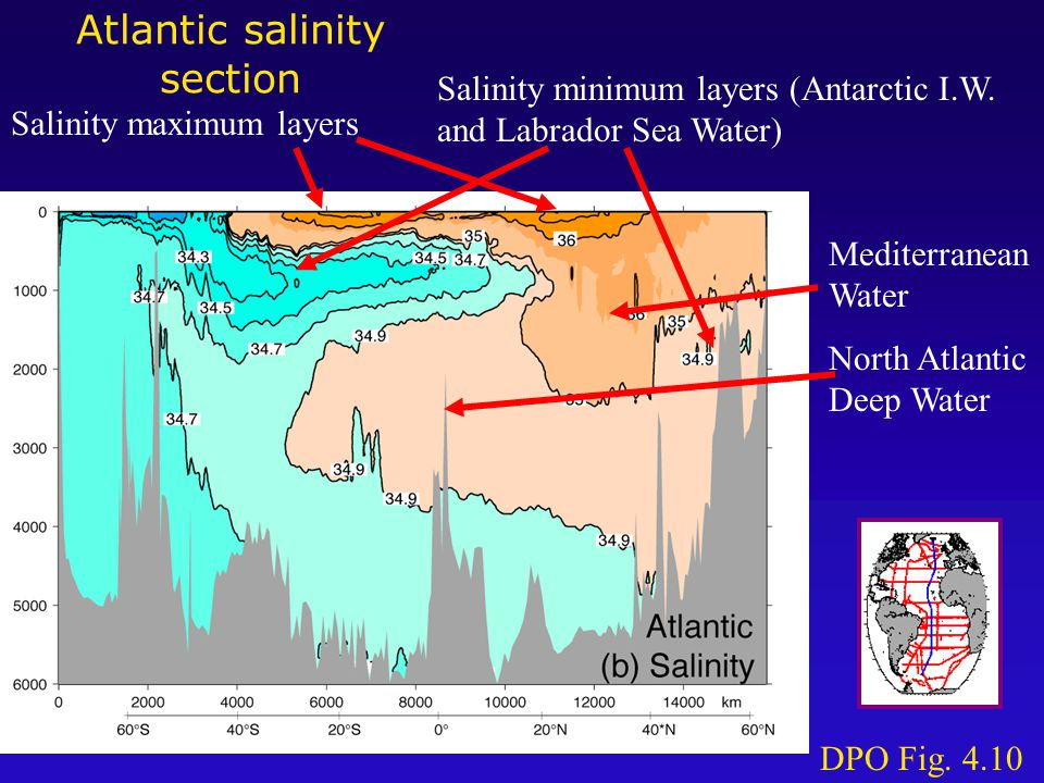 Water masses and water types Water mass: body of water with a common formation history .
