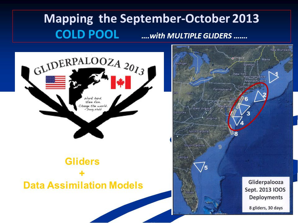 Mapping the September-October 2013 COLD POOL ….with MULTIPLE GLIDERS …….