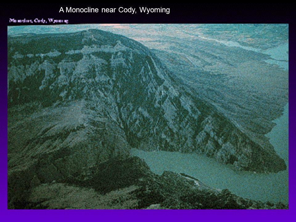 A Monocline near Cody, Wyoming
