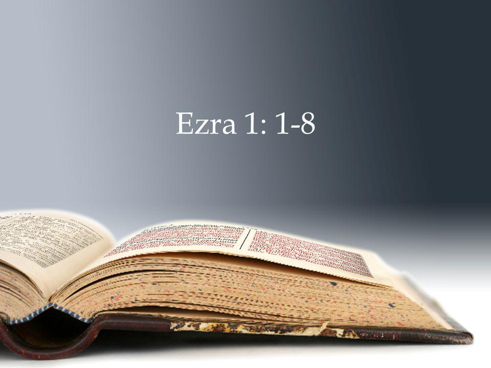Ezra 1: 1-8