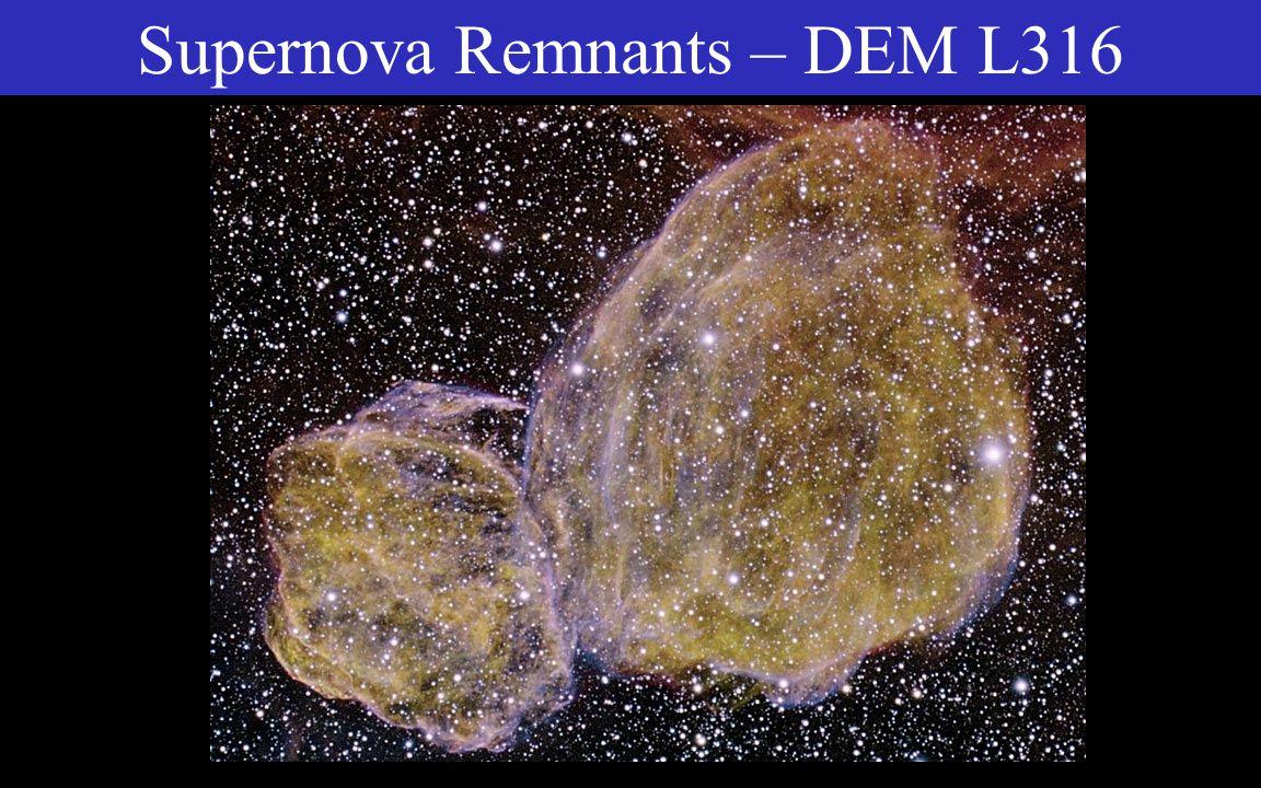 Supernova Remnants – Vela Nebula