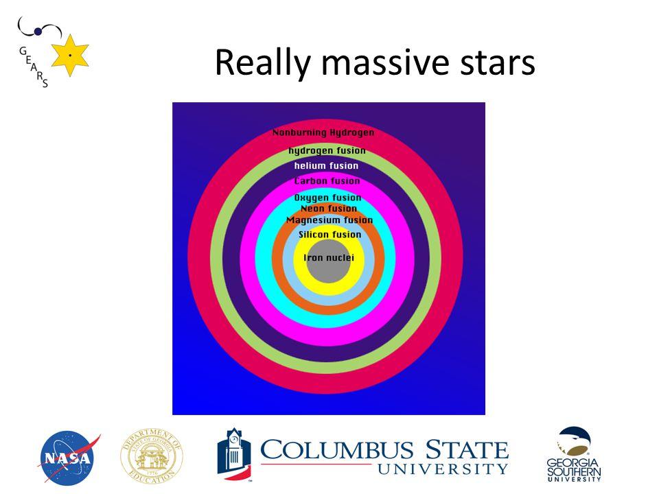 Really massive stars