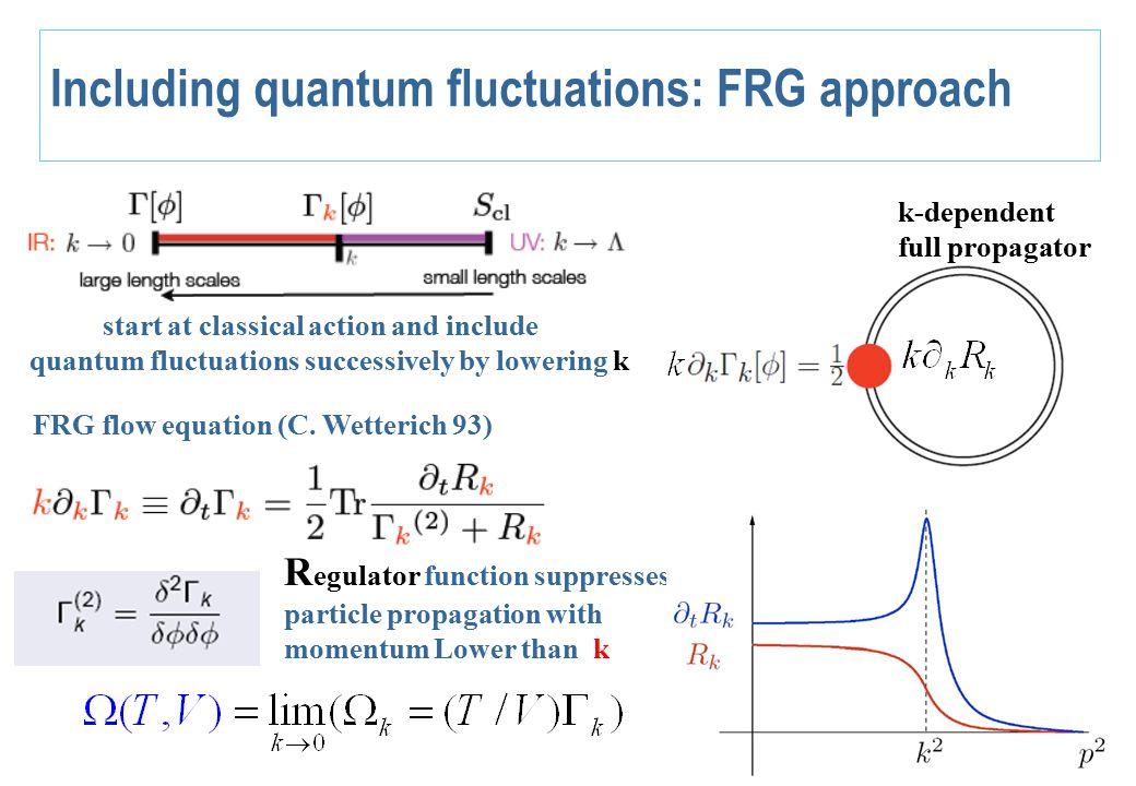 FRG for quark-meson model LO derivative expansion (J.