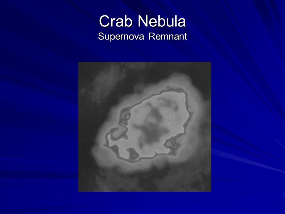 Crab Nebula Supernova Remnant