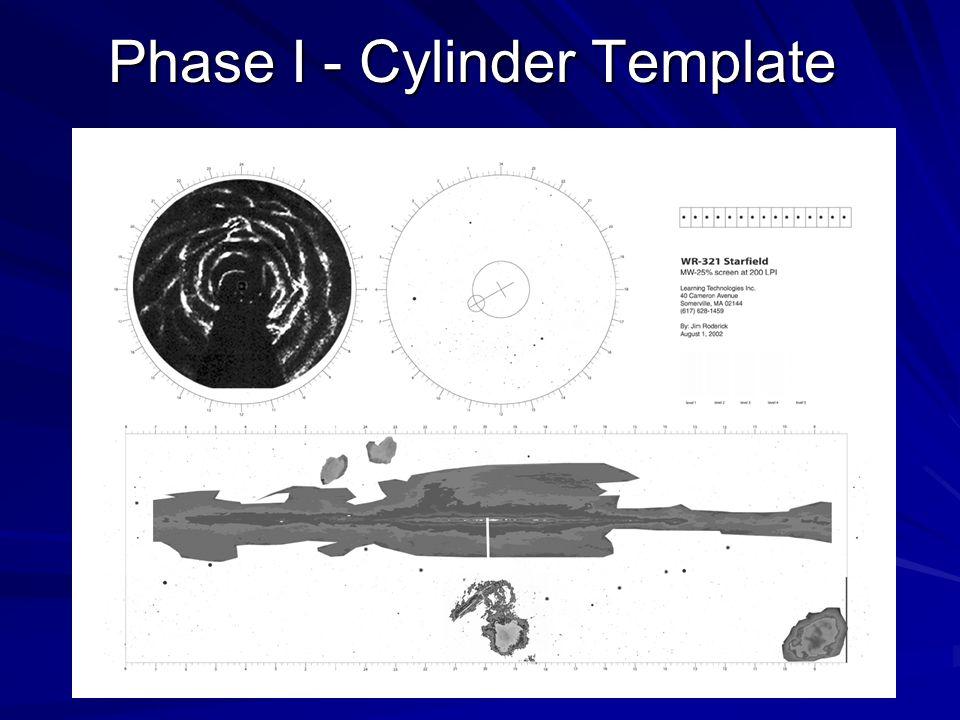 Phase I - Cylinder Template