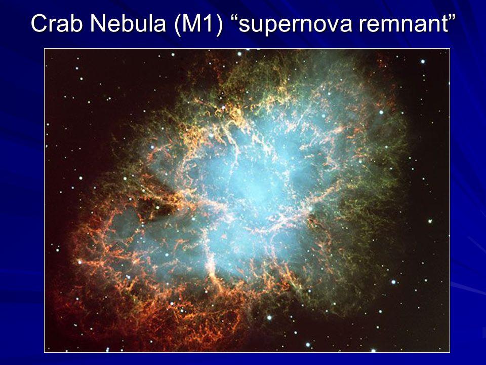 Crab Nebula (M1) supernova remnant