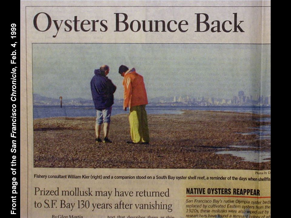 Front page part Front page of the San Francisco Chronicle, Feb. 4, 1999