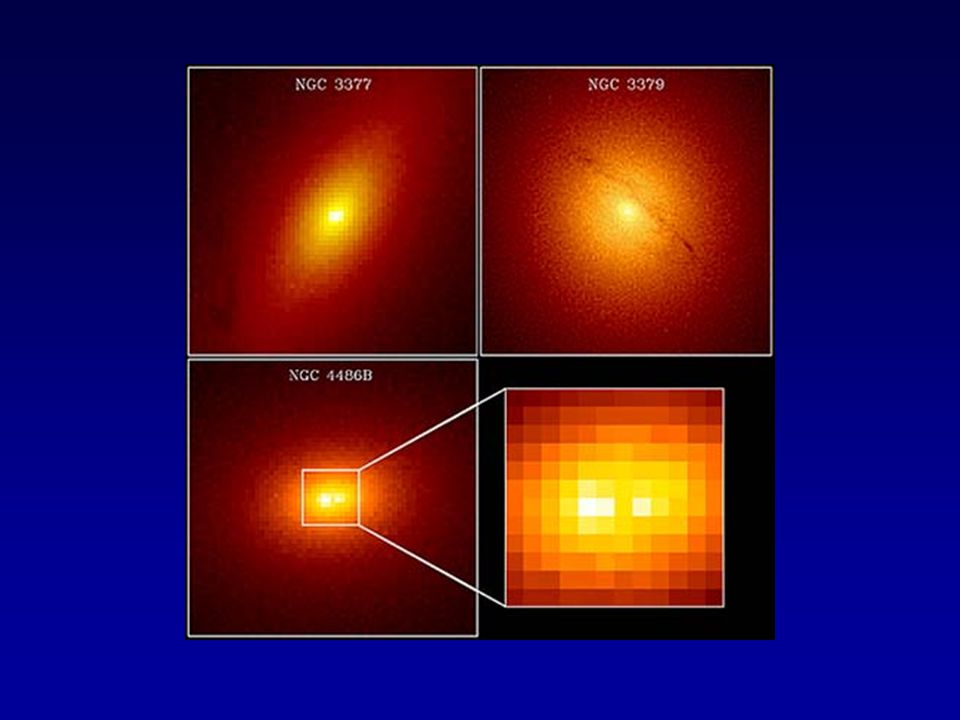 Cen A radio jets The nearby systems allowed observations much closer to the central engine and over time the evidence for the black holes has become more direct
