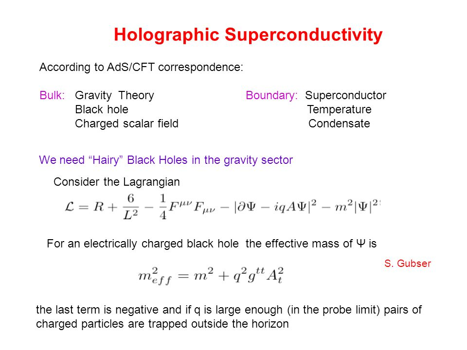 They can be solved by the Schwarzschild black hole Then the other field equations come from the Lagrangian density It is independent of and therefore well-defined in the probe limit The resulting coupling in the probe limit of the scalar fields with the gauge field is of the chiral anomaly type in t-x spacetime The two scalar field can alternatively be understood as a modulus and a phase of a complex field as where corresponds to the charge of the U(1) translational invariance.