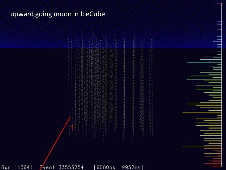 upward going muon in IceCube