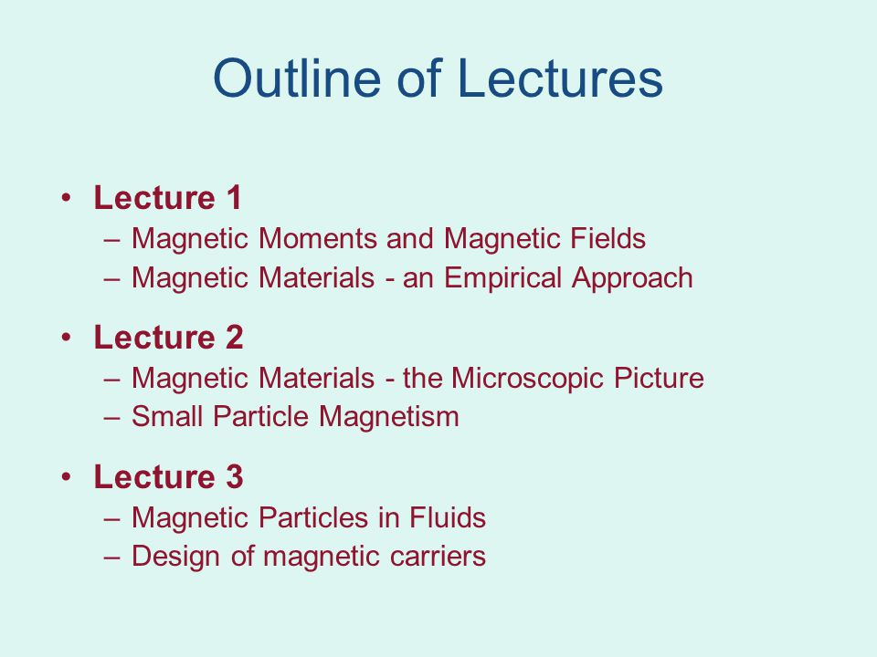 Magnetic domains Ferromagnetic materials tend to form magnetic domains Each domain is magnetized in a different direction Domain structure minimizes energy due to stray fields