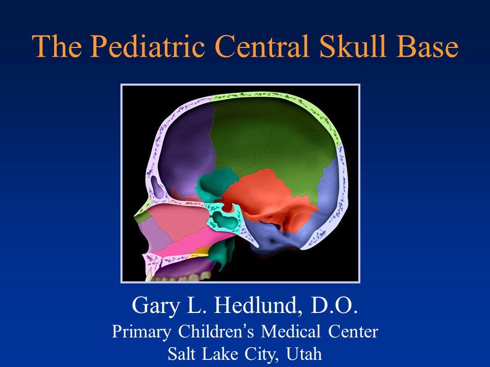 Craniopharyngeal Canal Larsen WJ. Human Embryology, 2 ND ed. Saunders; 1997