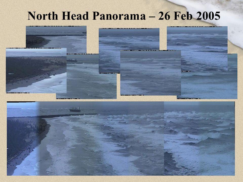 8 Panoramic to Plan Views – 26 Sept 04 250m 400m 670m Submerged sandbars N