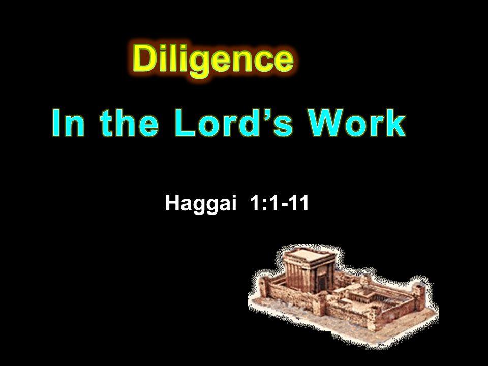 Haggai 1:1-11