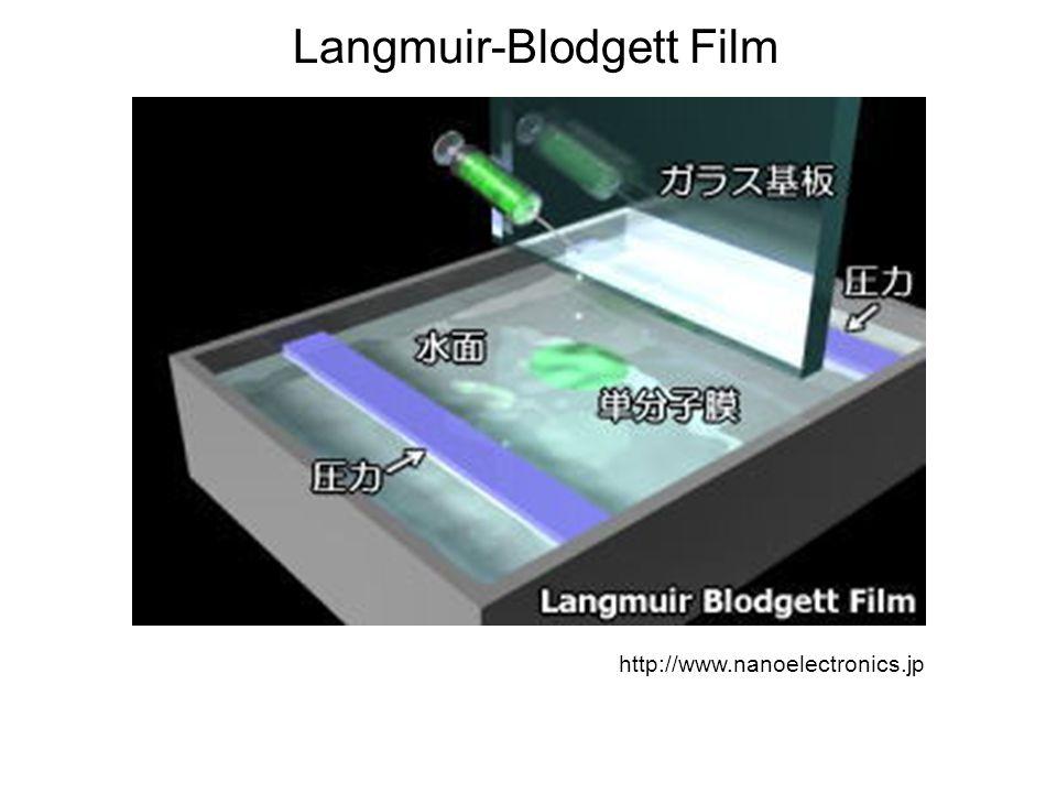 Langmuir-Blodgett Film http://www.nanoelectronics.jp