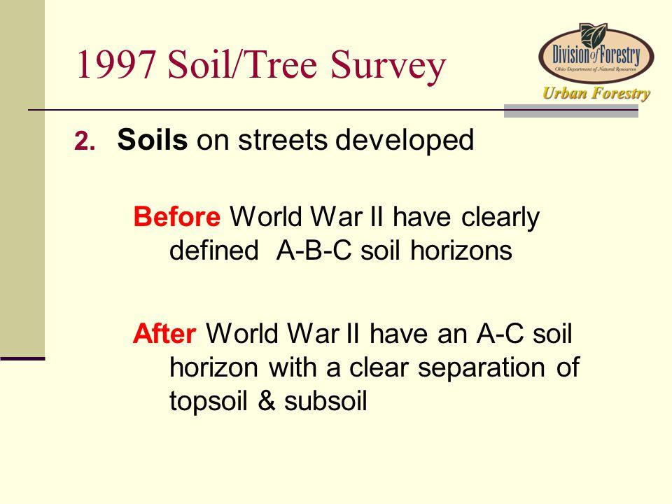 1997 Soil/Tree Survey 2.