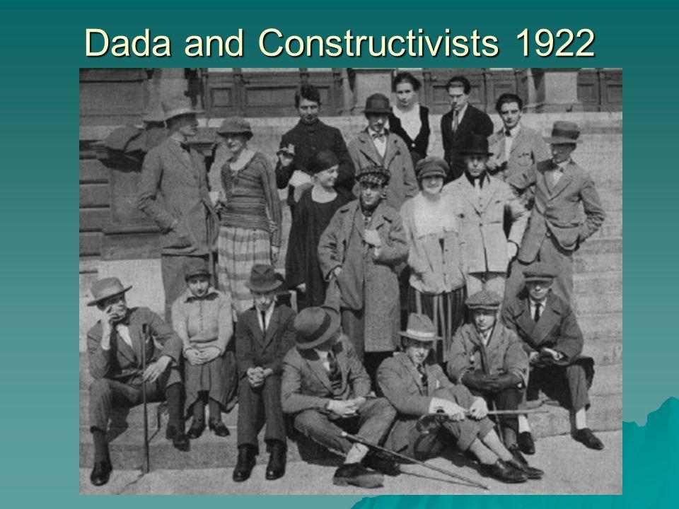 Dada and Constructivists 1922