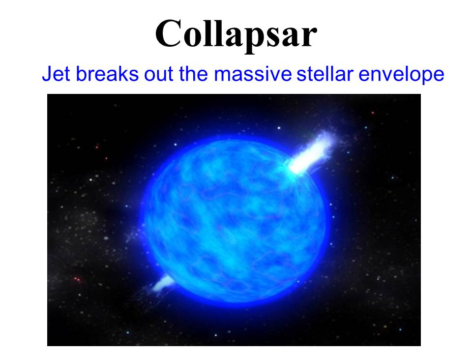 Collapsar Jet breaks out the massive stellar envelope