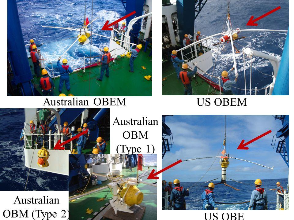 Australian OBEM Australian OBM (Type 1) Australian OBM (Type 2) US OBEM US OBE
