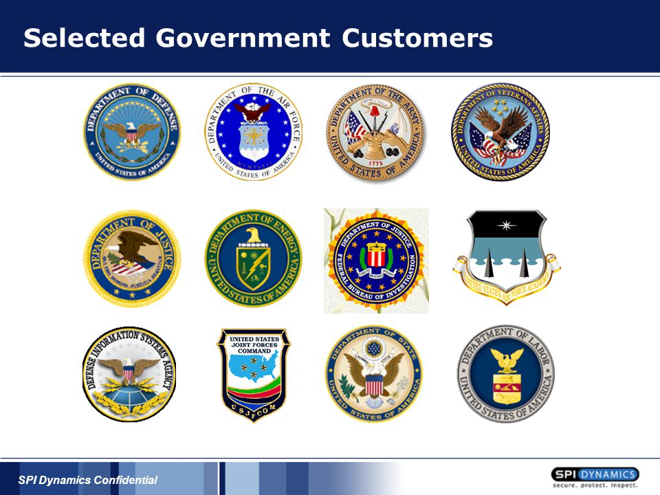 SPI Dynamics Confidential Phishing Resources Companies  www.fbi.gov – Federal Bureau of Investigation www.fbi.gov  Ask for the Cyber Crime Officer  Contact the FBI to report a Phishing attack  www.antiphishing.org – Anti-Phishing Working Group www.antiphishing.org  The Anti-Phishing Working Group (APWG) is the global pan-industrial and law enforcement association focused on eliminating the fraud and identity theft that result from phishing, pharming and email spoofing of all types  Excellent resource for Phishing information  www.digitalphishnet.org – Digital PhishNet www.digitalphishnet.org  The Digital PhishNet is a joint enforcement initiative between industry and law enforcement designed to ensnare those who perpetrate phishing attacks  Requires specific resources within a company