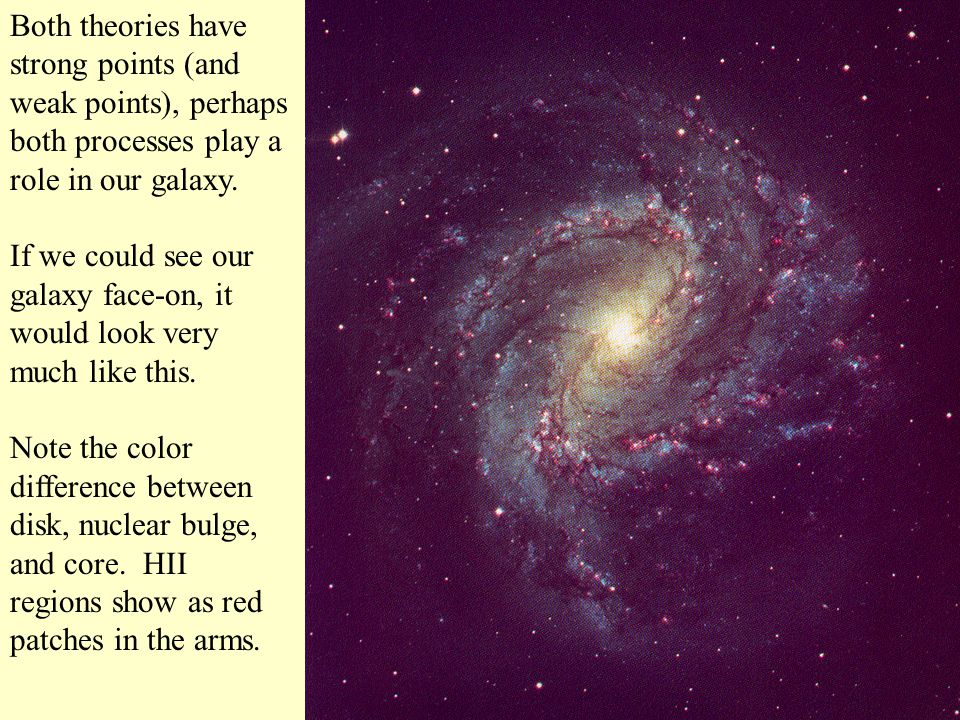Both theories have strong points (and weak points), perhaps both processes play a role in our galaxy.
