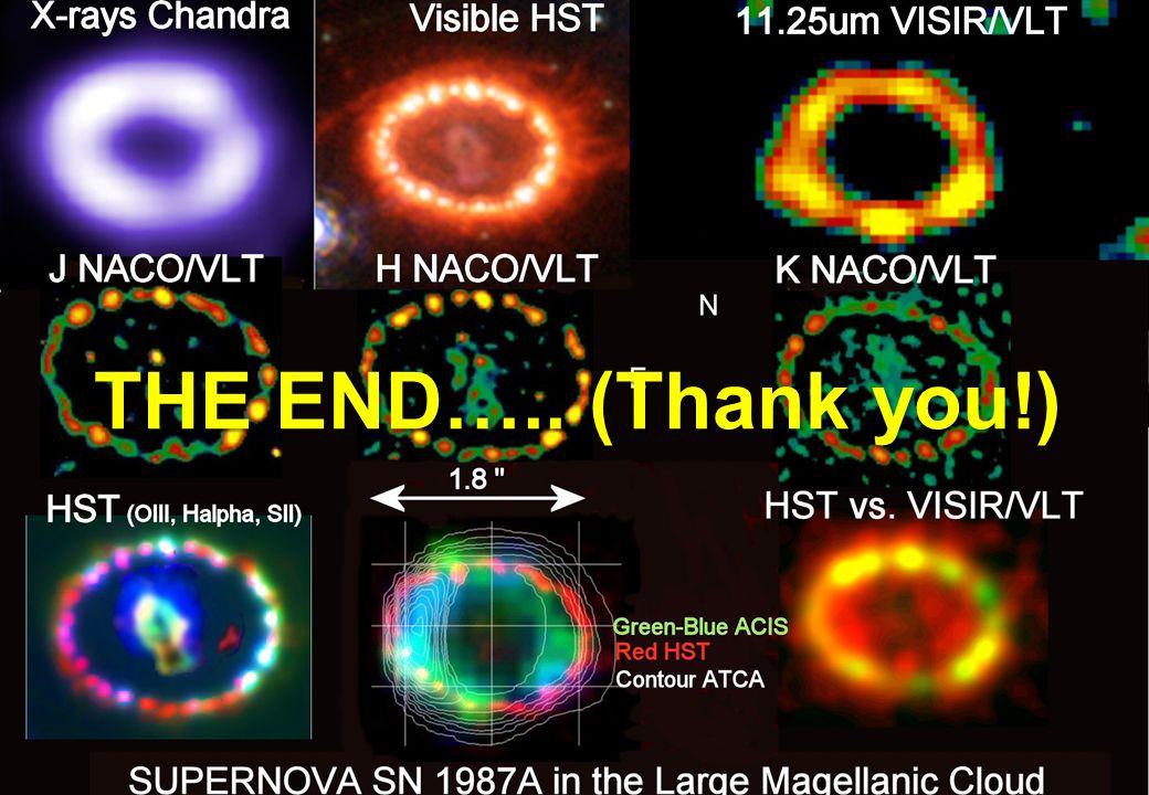 Patrice Bouchet – DSM/IRFU/Sap CEA-Saclay – COSPAR 2010 IRFU/ Service d'Astrophysiqu e THE END…..