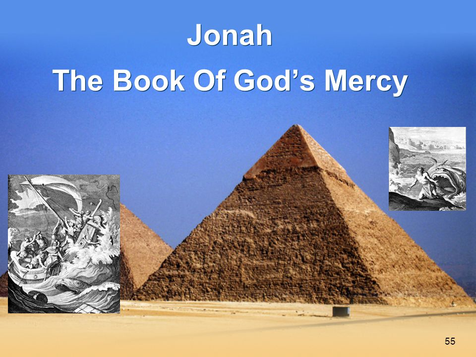 55 Jonah The Book Of God's Mercy