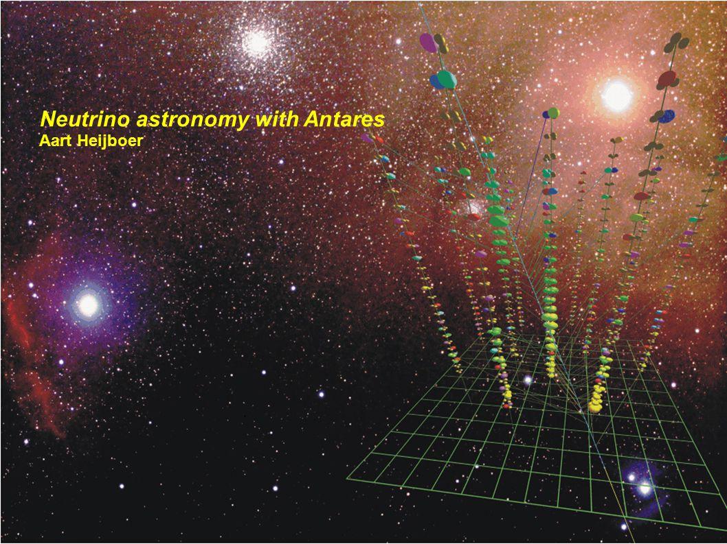 Neutrino astronomy with Antares Aart Heijboer