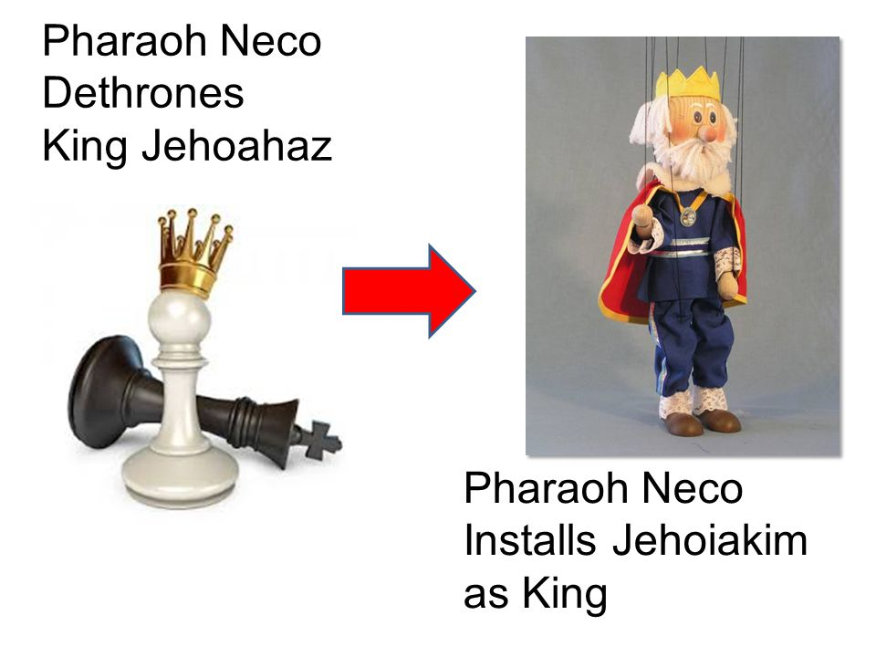 Pharaoh Neco Dethrones King Jehoahaz Pharaoh Neco Installs Jehoiakim as King