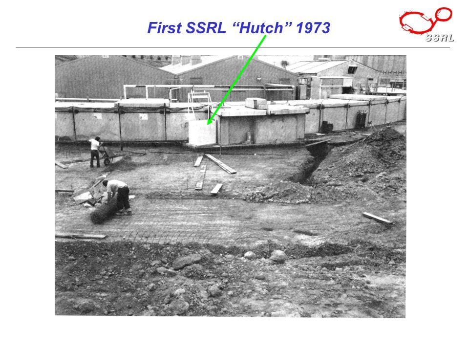 First SSRL Hutch 1973