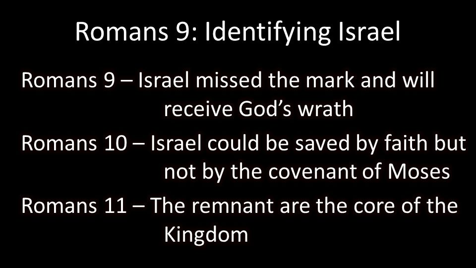 Romans 9: Identifying Israel