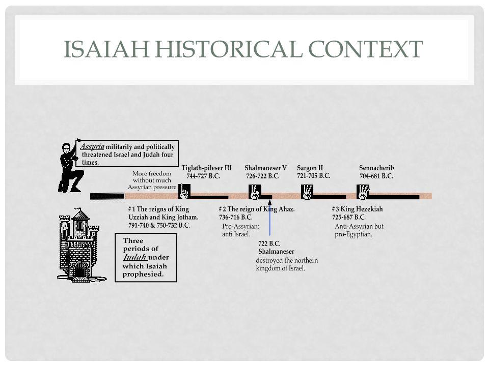 ISAIAH HISTORICAL CONTEXT