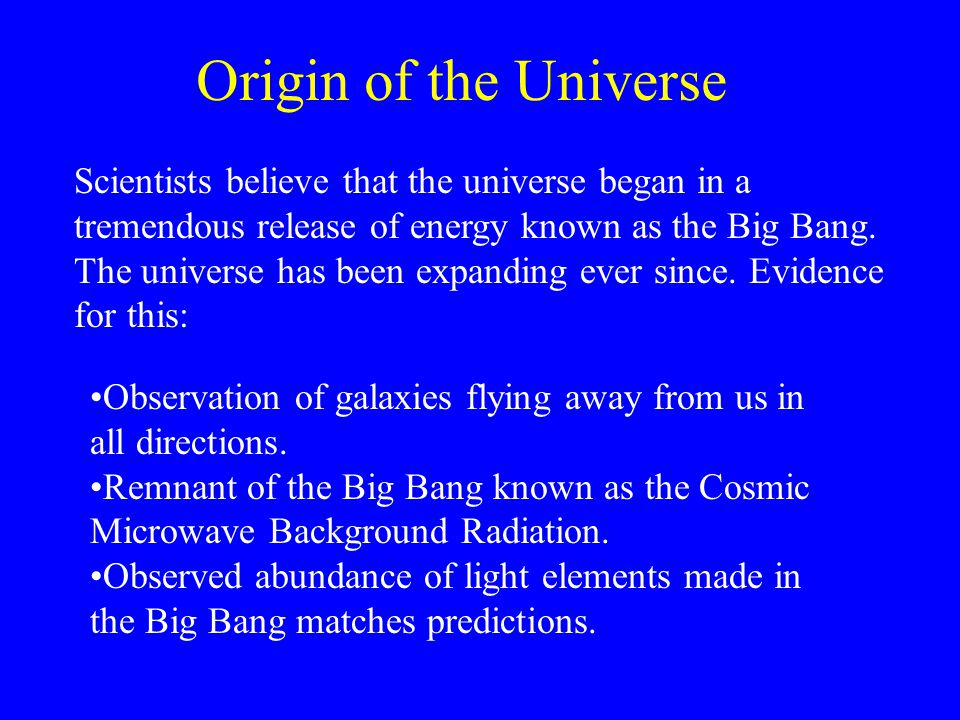Star Formation Eventually the universe cooled and atoms formed.
