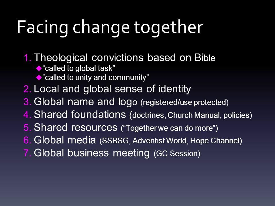 Facing change together 1.