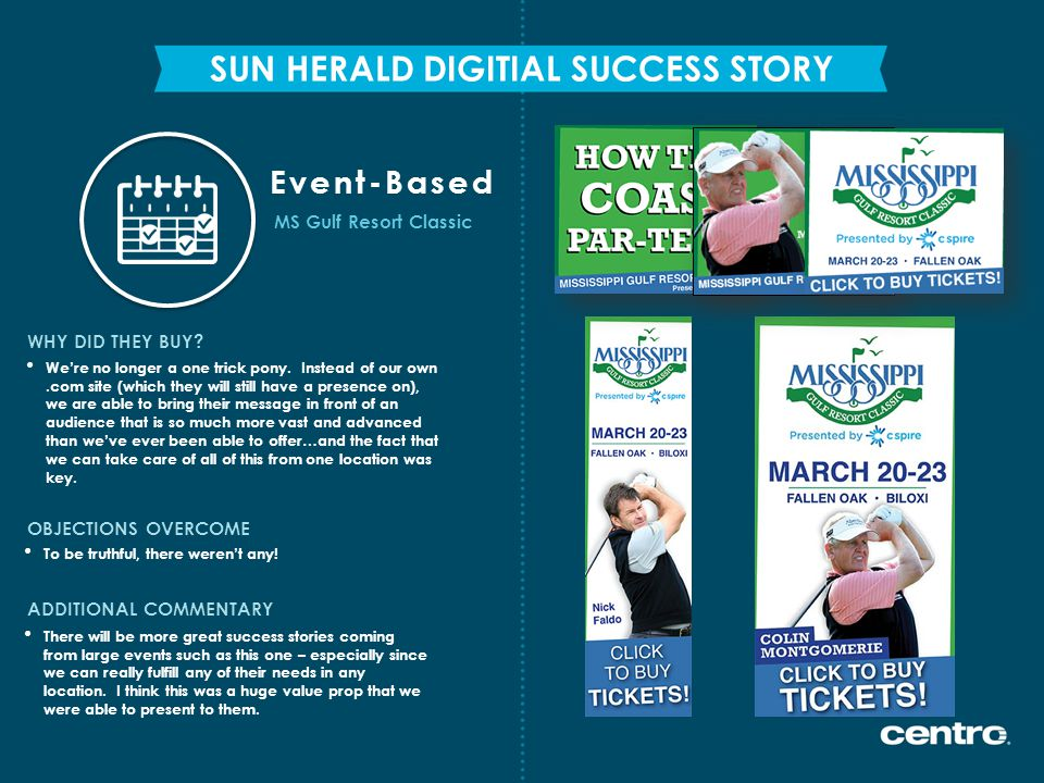 SUN HERALD DIGITIAL SUCCESS STORY WHY DID THEY BUY.