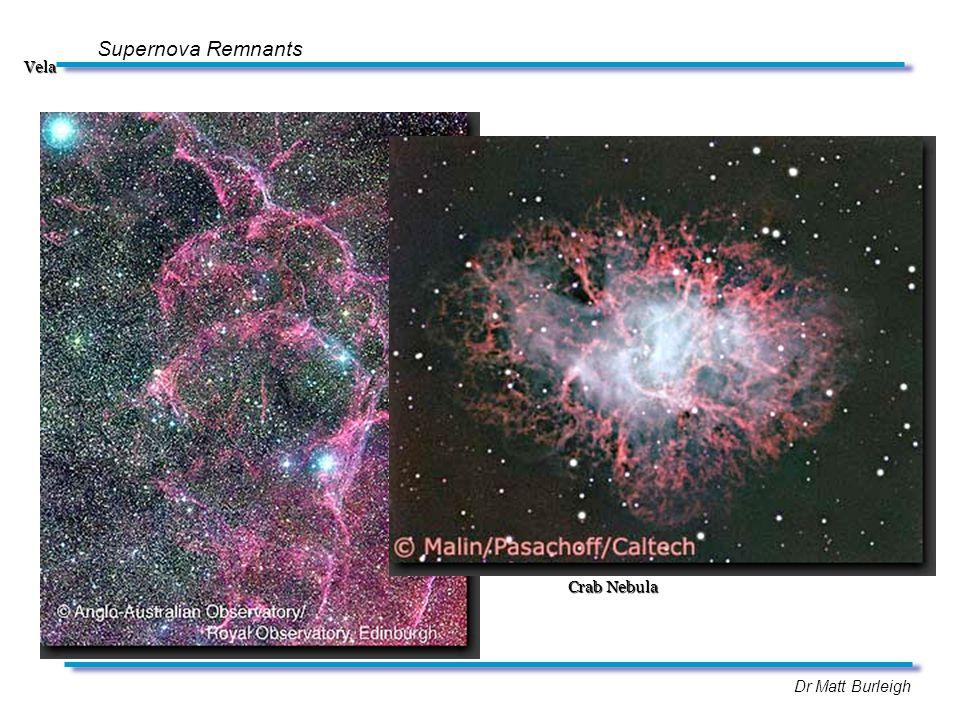 Dr Matt Burleigh Supernova RemnantsVela Crab Nebula