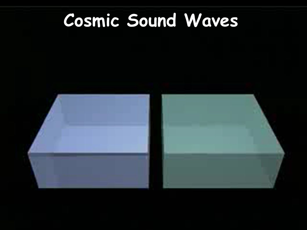 Cosmic Sound Waves