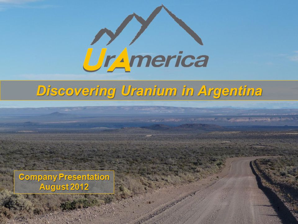 12 Strategic Land Position  UrAmerica controls most of the strategic land position directly adjacent to and surrounding CNEA's high grade Cerro Solo Deposit, hosting 15.4M lbs U 3 O 8 at a grade of 4,700ppm, and the Los Adobes Open Pit Mine.