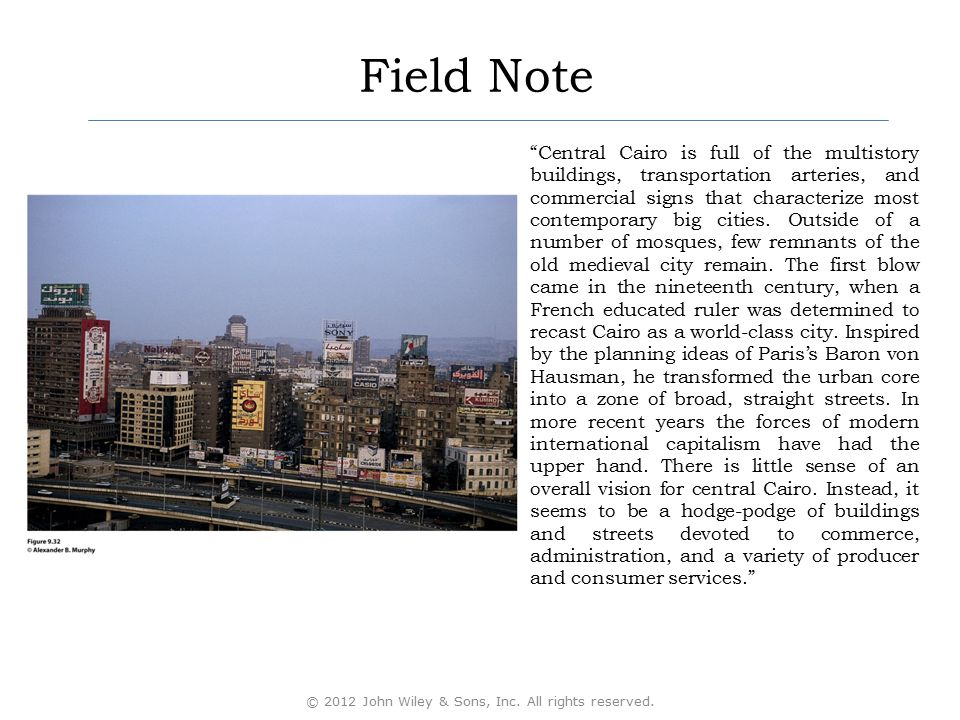 """Field Note """"Central Cairo is full of the multistory buildings, transportation arteries, and commercial signs that characterize most contemporary big c"""