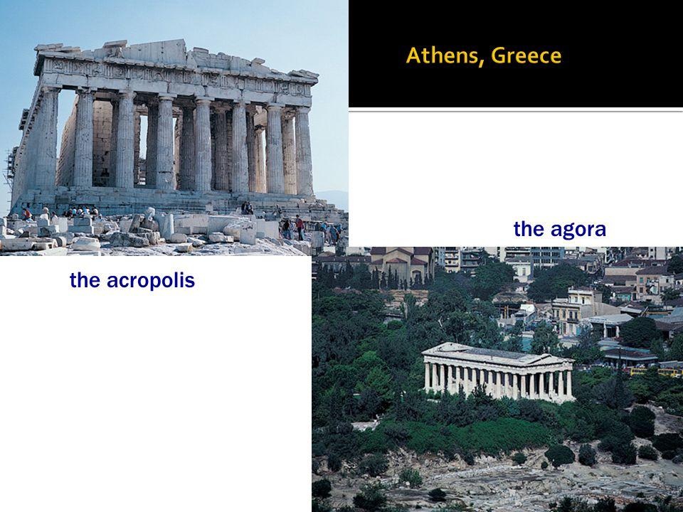 the acropolis the agora