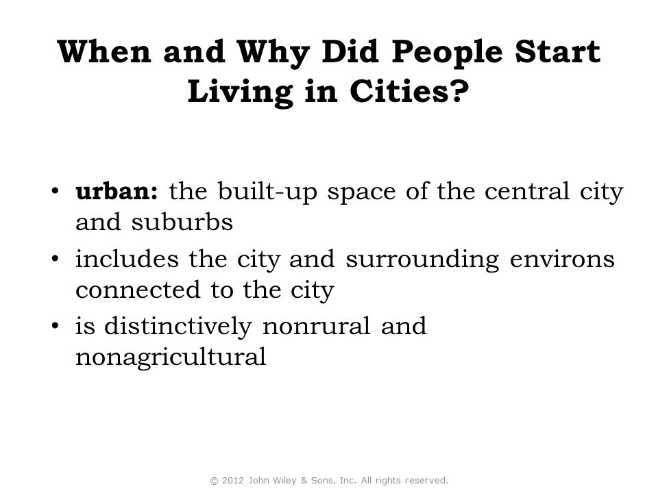 A city is an agglomeration of people and buildings clustered together to serve as a center of politics, culture, and economics.