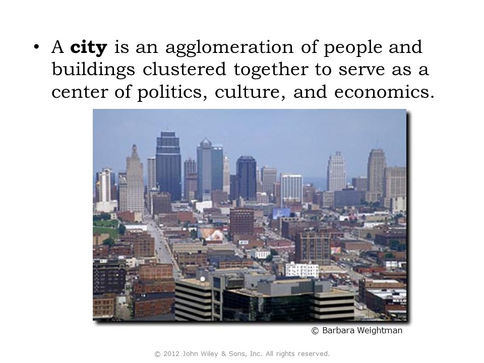 urban morphology: a city's layout; its physical form and structure.