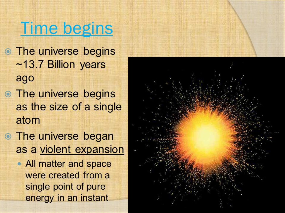  There is NO CENTER to the universe  Expansion looks the same regardless of where you are in the universe.
